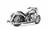 SHARKTAIL TRUE DUAL SYSTEM, HD00203 , SOFTAIL 2007-2017